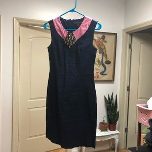 French Connection 1950s style embellished dress